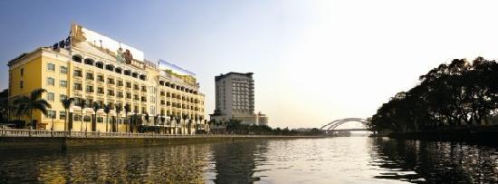 Jiangpan Business Hotel: 江景外围