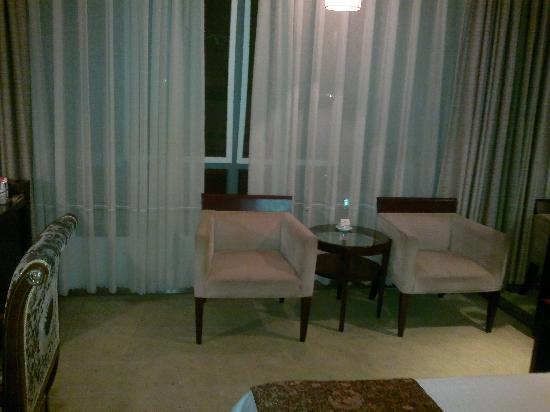 Saina Hepan Kaiyuan Hotel: 沙发
