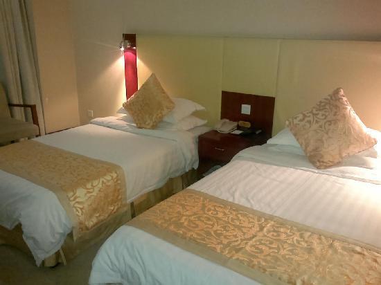 Tianranju Hotel: 双人床