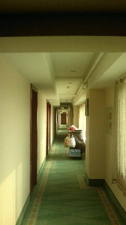 GreenTree Inn Taiyuan Liuxi Street Express Hotel : 过道