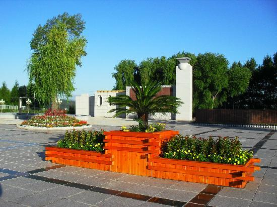 Baoqing County, China: 珍宝岛烈士陵园