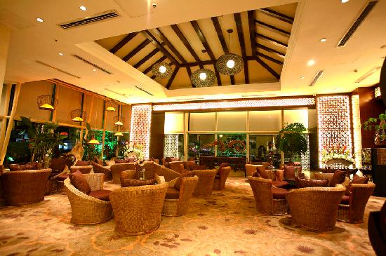 Bali Plaza Hotel Yiwu: 大堂吧