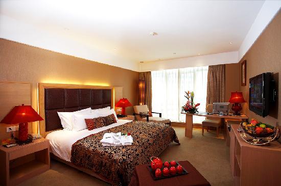 Bali Plaza Hotel Yiwu: 巴里岛风情房