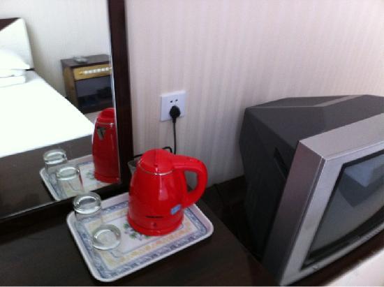 Fulai Hotel : 房内水壶
