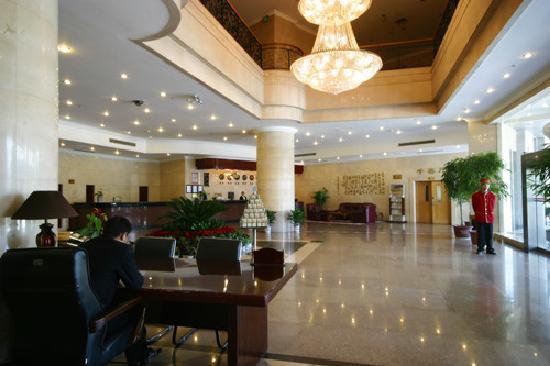Baiyulan Chengshi Hotel: 宾馆大堂