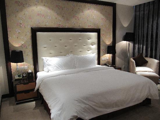 Jiangyan Hotel: 高级大床间