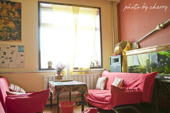 Qinghai Sangzhu Hostel: 休息厅