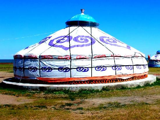 Xinba'erhuyou Qi, Китай: 小蒙古包