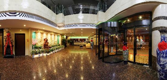 Super 8 Hotel Baoji Railway Station: 酒店大堂