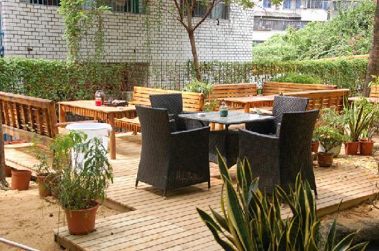 Redbud Flower International Youth Hostel: 花墅花园