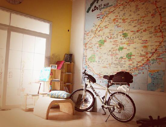 Redbud Flower International Youth Hostel: 大厅