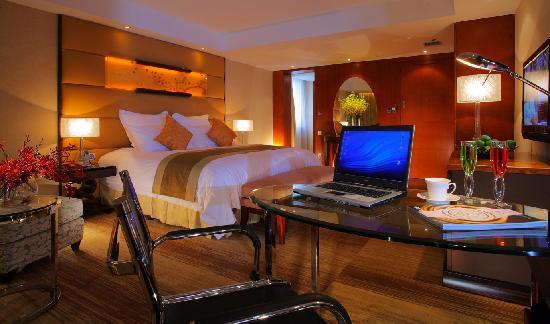 Gehua New Century Hotel: 酒店豪华大床房