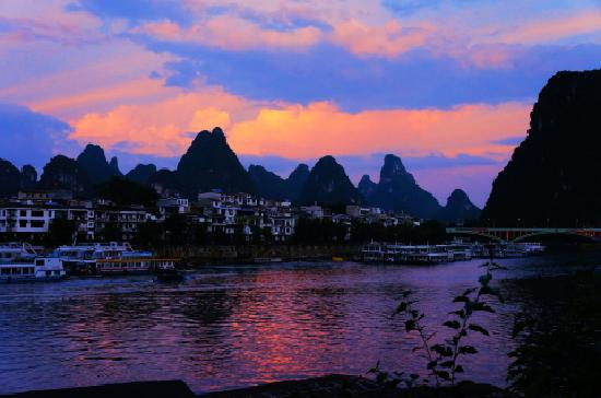 Xi Town River View Inn: 酒店外景