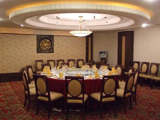 Ruichang, الصين: 酒店中餐厅包厢