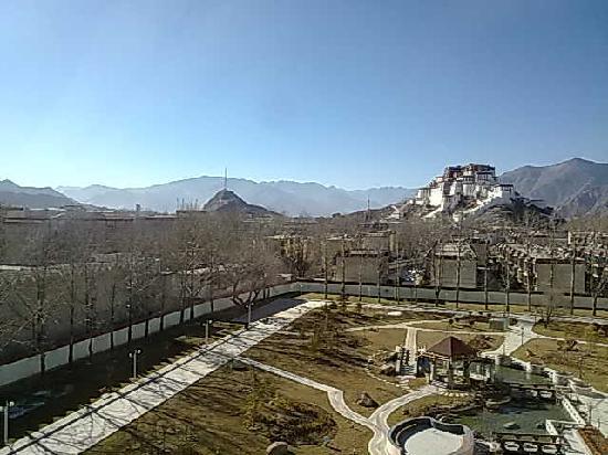 Lhasa Phuntsok Khasang International Youth Hostel : 景观房