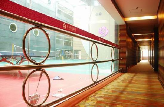 Joy Time Fashion Hotel: 酒店走廊