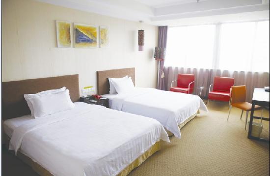 Caiyue Hotel: 高级双人房