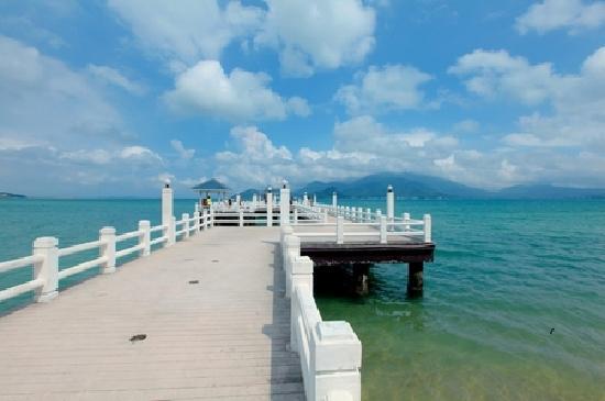 Jinshuiwan Holiday Village: 海边码头