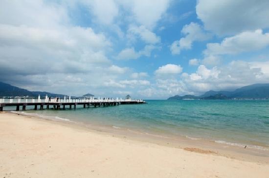 Jinshuiwan Holiday Village: 海边一景