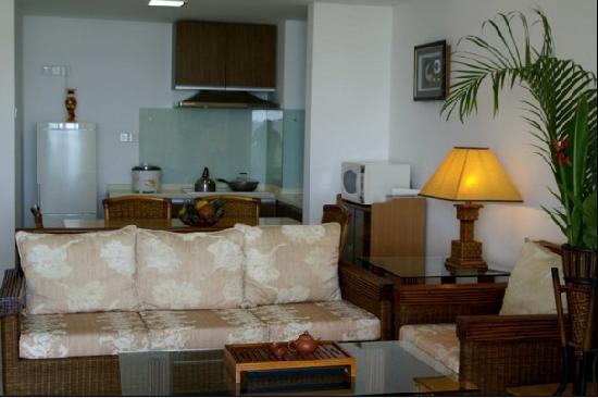 Haikuo Tiankong Yixian Seaview Holiday Apartment