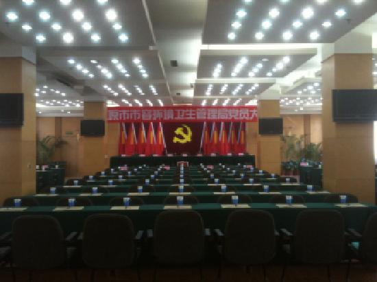 Sanqiao Hotel: 会议室