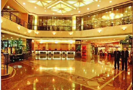 Boyue International Hotel Dongguan Houjie Wanda Plaza: 酒店大堂