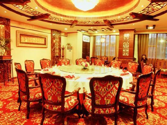 Boyue International Hotel Dongguan Houjie Wanda Plaza: 中餐豪华贵宾房