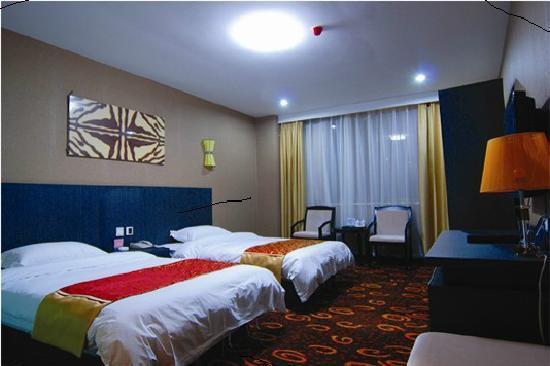 Wanjia Denghuo Business Hotel: 我入住的房间