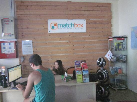 Matchbox The Concept Hostel: 前台