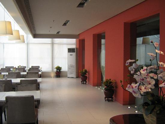 Jinjiang Inn Zhengzhou Zhongyuan Road: 很好的餐厅环境