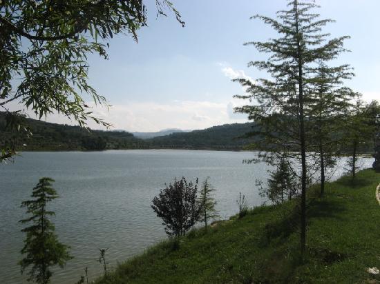 Xihe County, China: 西和晚湖霞