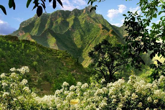 Xihe County, China: 西和县仇池山
