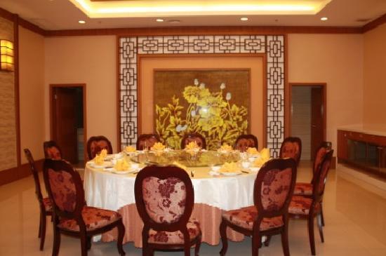 Garden Hotel Chenghai : 餐厅包厢