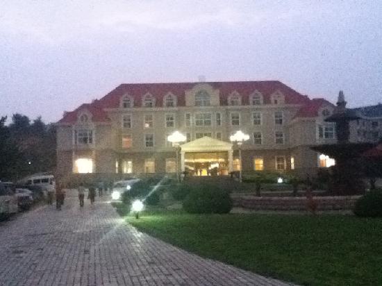 Redwine Garden Hotel: 酒店大楼外观
