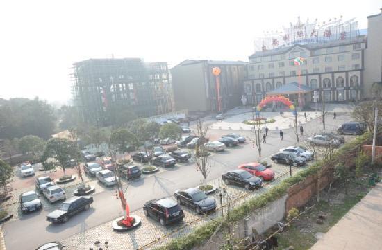 Jun'an International Hotel: 酒店外景