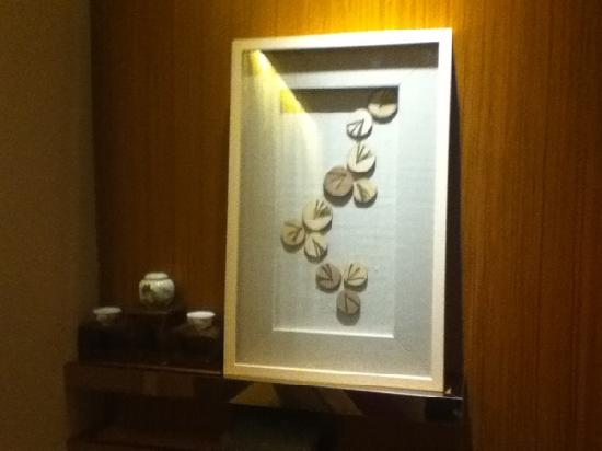 Crowne Plaza Huangshan Yucheng: 房间墙上的装饰