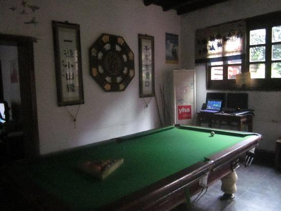 Xiaoshanlou International Youth Hostel: 桌球