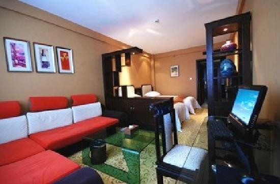 Dongyang International Hotel : 客厅