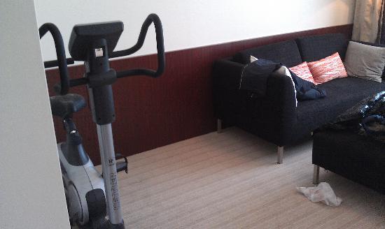 Apollo Hotel: 自行车机器