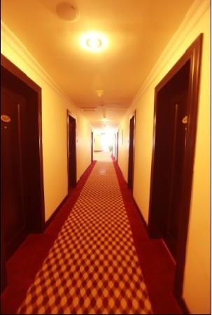 Baofeng Hotel: 酒店走道