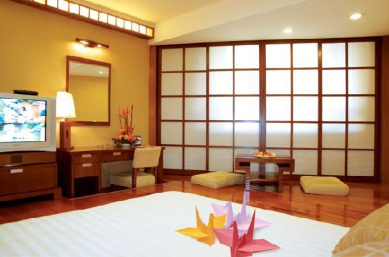 Century Plaza Hotel: 商务豪华房(日式)