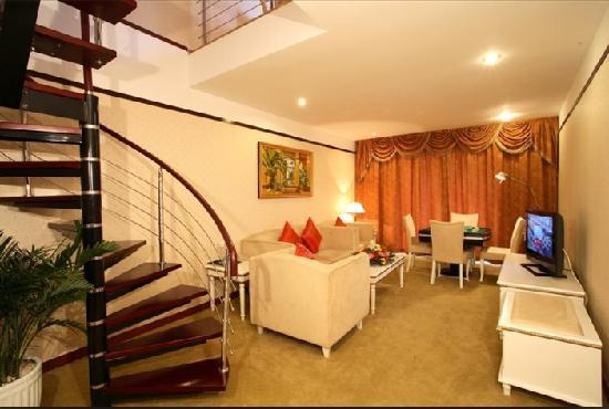 Oriental Landscape Holiday Hotel : 套间客房
