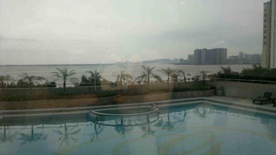 โรงแรมแกรนด์เบย์วิว: 酒店窗外