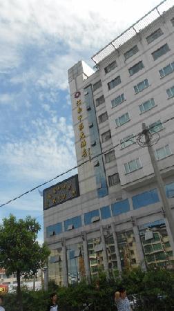 Jiangnan Jiadi Hotel : 酒店外观