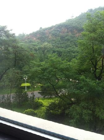 Xinglin Resort: 房间窗外景致
