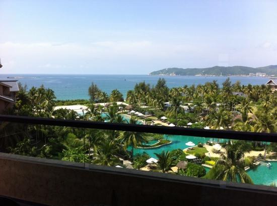 Hilton Sanya Yalong Bay Resort & Spa: 海景