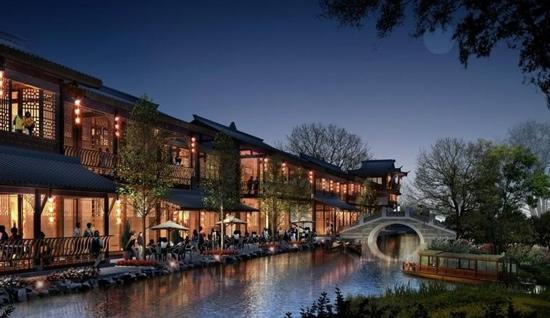 Hangzhou Songcheng Xianghu scenic spot : 第一世界夜景