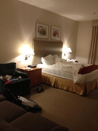 Holiday Inn Express Warwick/Providence : 大床房