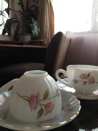 Golf 1 Hotel Dalat: 房间茶杯