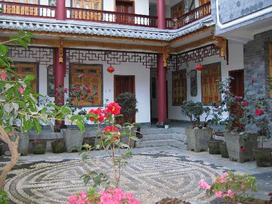 Dali Zongshuyuan Inn: 客栈院子